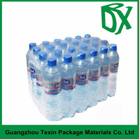 PE heat shrinkable shrink plastic film for beverage bottle packaging