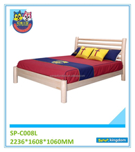 Round Design Bed For Kids Simple Wooden Single Bed