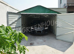 innovative products for import sheet metal car shed for car HX81133-A