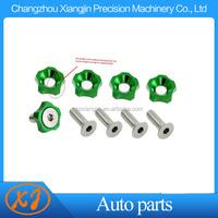 cnc aluminum alloy washer manufacturer flower shape bolt nut washer
