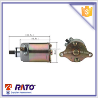 most popular GY6-150, GY6-125 scooter starting motor for sale