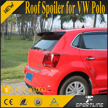 Carbon Fiber POLO R Roof Spoiler for VW POLO 6R Hatchback 11-15