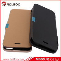 Low Price High Quality Power Charger For Iphone 5 Case With Lithium P For Iphone5/5S Battery Case With Flip Cover