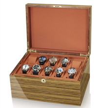 high quality customized luxury wooden watch packaging