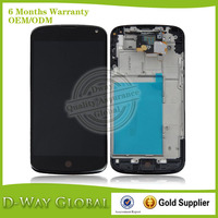 Mobile phone accessory lcd replacement For LG Google Nexus 4 E960 lcd assembly with touch