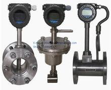 La serie lugb baratos eléctrica medidor de flujo vortex/de vapor de vórtice flujómetro/aceite de gas del medidor de flujo