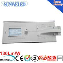 Residential Solar China All in One Solar LED Garden Street Light 30w 40w 50w 60w