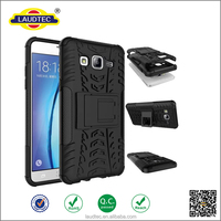 Heavy Duty Shock Proof Impact Rugged Hybrid Case For Samsung On 5 Kick Armor Phone Back Cover With Stand Function