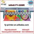 3.2 m de gran formato impresora solvente infiniti fy3208 maquinaria para exterior impresión de inyección de tinta