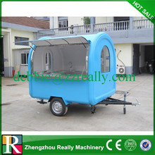 2m width high quality food trailer food cart for sale