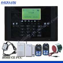 Hot sale!china home alarm system wildly use for smoke,gas,door,window anti-theft--BL6000G