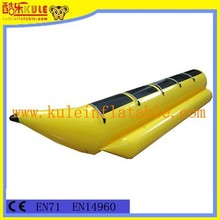 KULE top quality hot sell inflatable banana boat for water games for sale