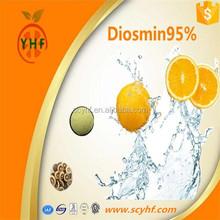 Factory supply natural compounds Diosmin 95% high quality citrus aurantium extract powder CAS520-27-4