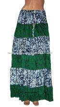 moda mujer faldas largas