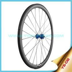 Disc brake 33mm clincher rim carbon wheels DB330C Made in China Yishunbike