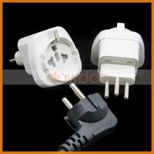 10A 250V Generic Switz International Travel Grounded Adapter Plug