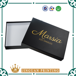 creative custom clothes packaging boxes printing