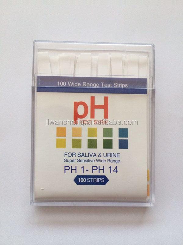 pH Test Strips pHion Balance
