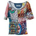 moda por atacado de alta qualidade camisa personalizada para mulheres, senhora blusa