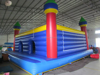 cheap bouncy castle/used commercial bounce houses for sale