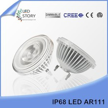 Best selling products in america aluminum 40 degree beam angle led lamp ar111 15w cob led light bulbs