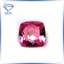 High quality gemstone sterling silver square beads cz jewelry