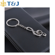 >>>> New Arrival Novelty Alloy Musical Note Key Chain Creative Gifts Keychain Key Ring Trinket/