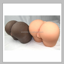 Newest product super soft adult sex silicone vagina anal sex doll , sex toys, condom wholesale