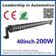 Factory direct car accessory 5w single row tow truck led light bar 44 42 40inch 200w