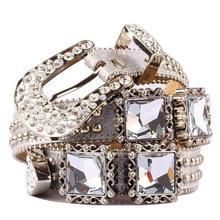 new style woman rhinestone belt