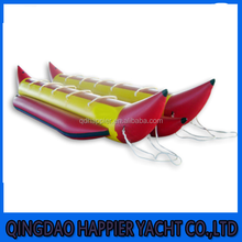 Low price with high quality inflatable boat water game banana boat for sale