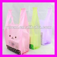 Plastic packaging dissolvable plastic bags