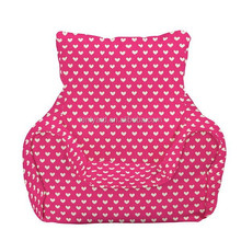comfort red pot heart cute luxury beauty beanbag chair or soft lazy corner sofa