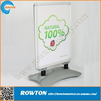 Outdoor moving water picture a frame board