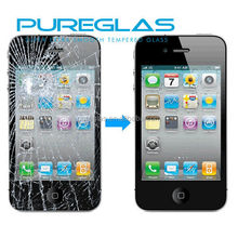 0.3mm 2.5D for iphone 5s mobile phone 0.33mm tempered glass screen protector