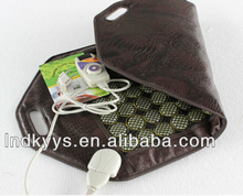 ceragem similar warm heat jade seat cushion mattress, 50*95cm natural jade stone therapeutic car seat cushion