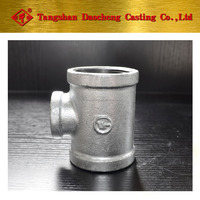 New Series Galvanized Bended Reducing Tee