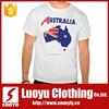 Australia printing tshirt for man