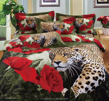 New 3D bedding set animals and flower ,bed linen,bedding-set,family set 4 pcs quilt /bed sheets / pillowcases.king size