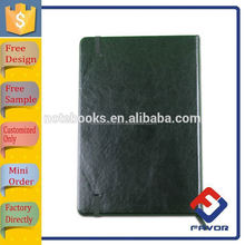 notebook manufacturer OEM orders soft clear black pvc notebook covered