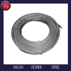 6x37 Steel Wire Rope 6mm