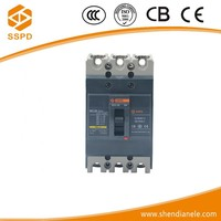 Good quality compressor overload protector moulded case circuit breaker 3p 63a mccb