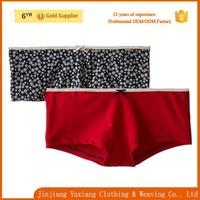 wholesale comfortable cotton spandex women sexy boy short panty