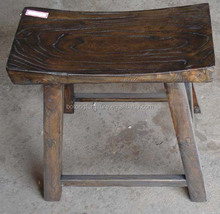 Antique furniture wooden stool LWS006