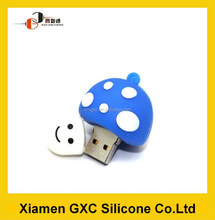 bulk 2gb usb flash drives silicone little mushroom head u disk