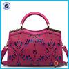 2015 fashion hollow out women handbag big pu lady handabg