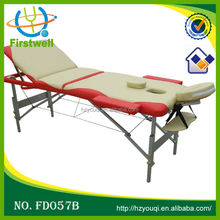 Mix colour furniture hydraulic aluminum massage table for sale