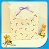 Mini Paper Bag with Lace Decorative Fancy Paper Gift Bag