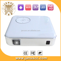 JANUS P1 build in android4.4 RK3188 cheap mini projector mobile phone projector android mini led projector for iphone/ipad/pc