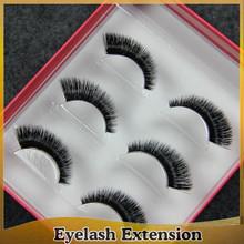 Natural False Eyelashes Invisible Clear Band Long Black Eye Lashes Make Up
